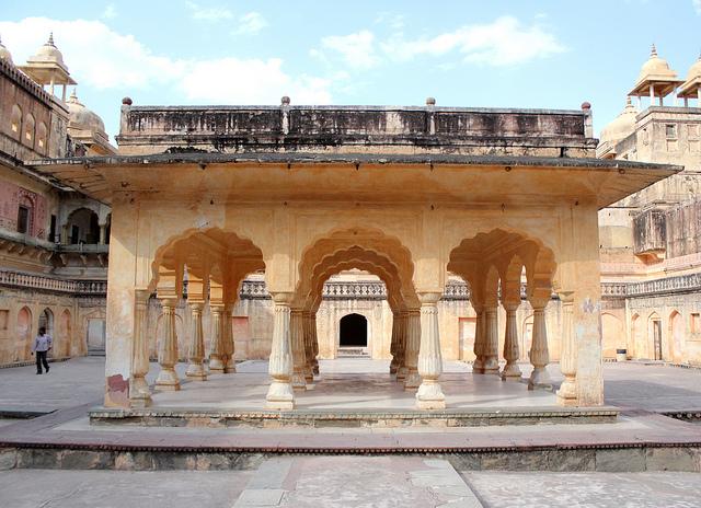 A pavilion called Baradari
